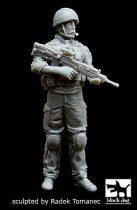Black Dog British soldier in Afghanistan