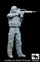 Black Dog German soldier in Afghanistan