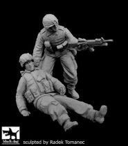 Black Dog US soldiers patrol operation FREEDOM