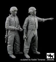 Black Dog Israel army tank crew set