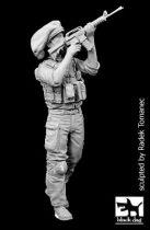 Black Dog Israel army soldier N°1