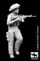 Black Dog Israel army soldier N°2