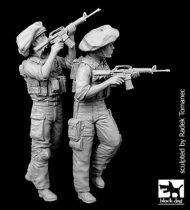 Black Dog Israel army soldiers set