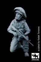 Black Dog Israeli soldier patrol N°1