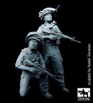 Black Dog Israeli soldiers patrol set