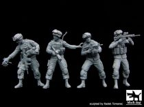 Black Dog US soldiers special group team big set