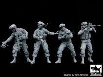Black Dog US soldiers special group team big set