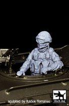 Black Dog Soldier in Crimea N°3 Gaz Tiger gunner