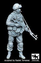 Black Dog Soldier in Crimea N°5 gunner