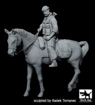 Black Dog US Special forces on horse