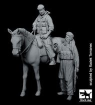 Black Dog US Special forces on horse+Afghanistan fighter