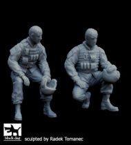 Black Dog US modern tank crew set N°2