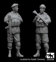 Black Dog Ukrainian army soldiers set