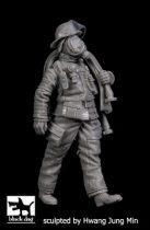 Black Dog Fireman N°3
