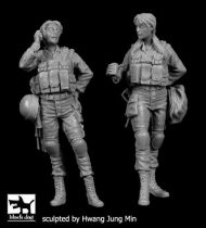 Black Dog Israeli women soldiers set N°2