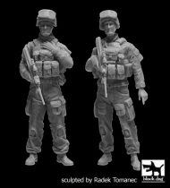 Black Dog Australian modern soldiers set