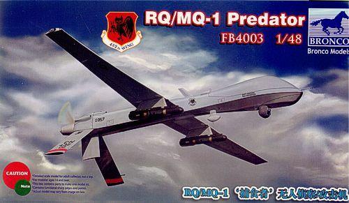 Bronco RQ/MQ-Predator Drone makett
