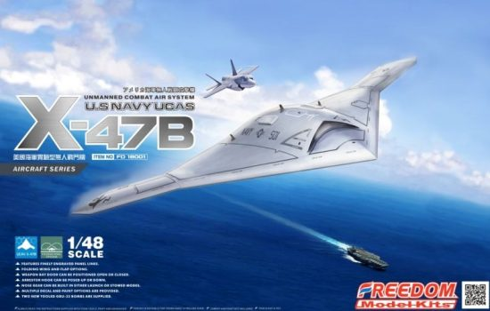 Freedom U.S NAVY UCAS X-47B makett