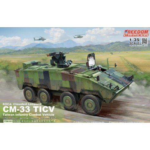 Freedom Model ROCA CM-33 TIFV with Remote Weapon Station makett