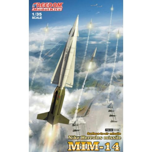 Freedom Model MIM-14 Nike Hercules missile makett