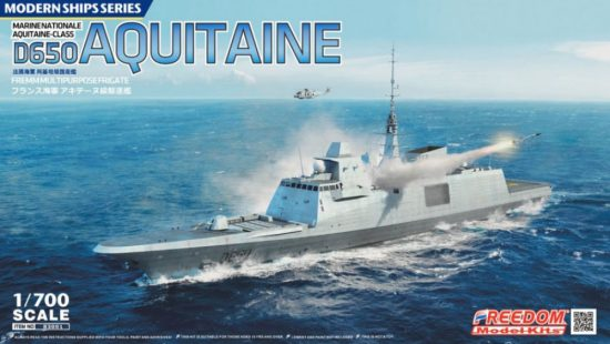 Freedom Model D650 Aquitaine FREMM makett