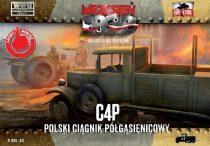 First to Fight C4P Polish Halftrack Artillery Tractor makett