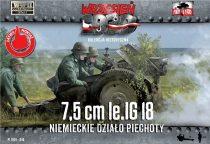 First to Fight LiG 18 German Infantry Gun on DS wheels makett