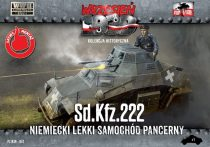 First to Fight Sd.Kfz.222 German Light Armored Car makett