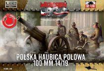 First to Fight Skoda 100mm 14/19 Polish Howitzer makett
