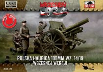 First to Fight 100mm Polish wz. 14/19 Howitzer, Early Version makett