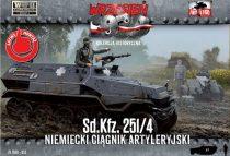 First to Fight German Sd.Kfz.251/4 half-track makett