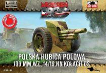 First to Fight Skoda 100mm Howitzer on DS wheels makett