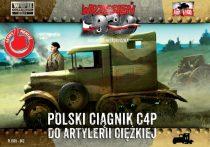 First to Fight C4P Polish Heavy Artillery Tractor makett
