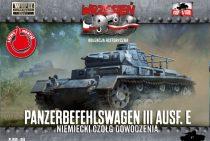 First to Fight Panzerbefehlswagen III Ausf.E Command Tank makett