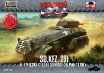 First to Fight German Sd.Kfz.231 Heavy Armored Car makett