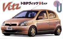 Fujimi Toyota Vitz 5 doors Type U makett