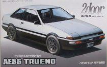 Fujimi Toyota AE86 Trueno GT Apex makett