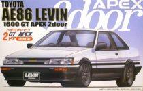 Fujimi Toyota AE86 Levin 1600GT Apex makett
