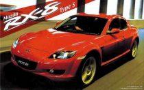 Fujimi Mazda RX-8 Type S makett