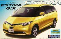"""Fujimi Toyota Estima """"G"""" and """" X"""" version makett"""