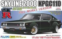 Fujimi Nissan Skyline GT-R KPGC110 makett