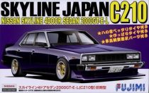 Fujimi Nissan Skyline Sedan 2000GT-E-L makett