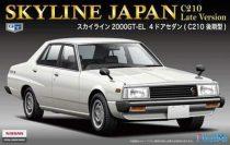 Fujimi Nissan Skyline Japan C210 Late makett