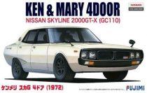 Fujimi Nissan Skyline KPGC-110 GT-R '72 makett