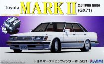 Fujimi Toyota Mark II 2.0 Twin Turbo GX71 makett