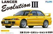 Fujimi Mitsubishi Lancer EVO III makett