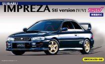 Fujimi Subaru Impreza WRX Sti makett