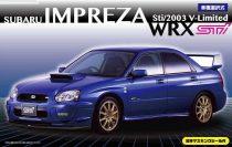 Fujimi Subaru Impreza WRX Sti 2003 makett