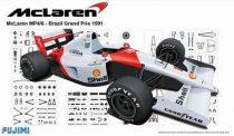Fujimi McLaren MP4/6 Brazil Grand Pix 1991 makett
