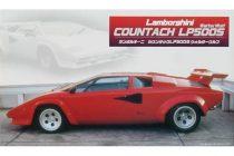Fujimi Lamborghini Countach LP500 makett